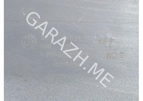 Накладка порога левая BMW E60 (02-10 гг)