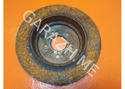 Диск тормозной задний Acura MDX YD2 3.7L (07-12 гг)