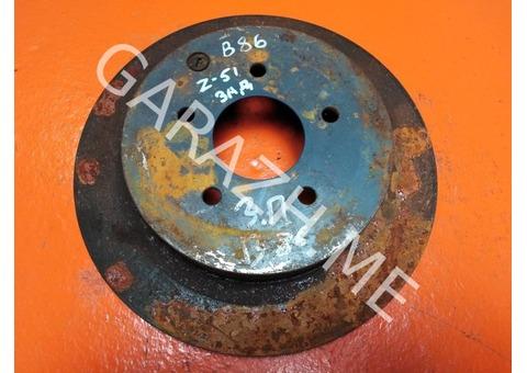 Диск тормозной задний Nissan Murano Z51 3.5L (08-15 гг)