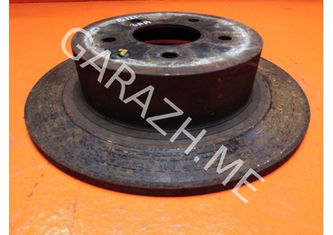 Диск тормозной задний Nissan Juke F15 1.6T (10-14 гг)