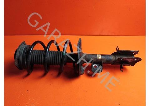 Стойка амортизатора передняя правая Nissan Juke F15 (10-14 гг)